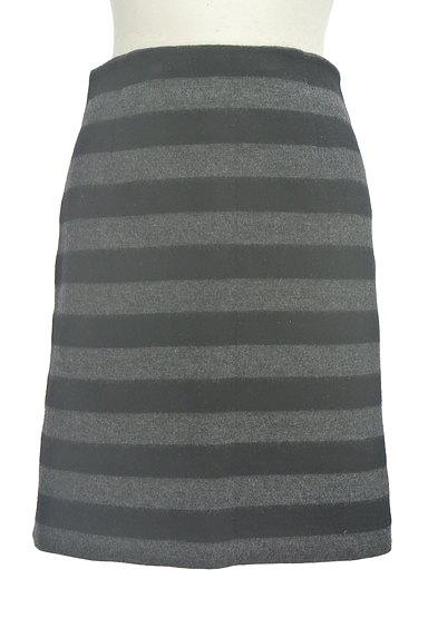 m's select(エムズセレクト)の古着「ボーダータイトスカート(スカート)」大画像1へ