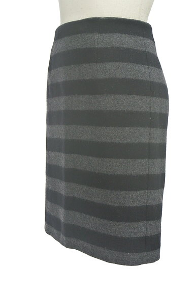 m's select(エムズセレクト)の古着「ボーダータイトスカート(スカート)」大画像3へ