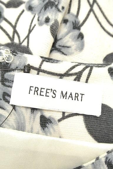 FREE'S MART(フリーズマート)の古着「モノトーンフラワーチュニック(ワンピース・チュニック)」大画像6へ