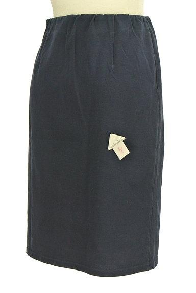 NATURAL BEAUTY BASIC(ナチュラルビューティベーシック)の古着「コットンレースセミフレアスカート(スカート)」大画像4へ
