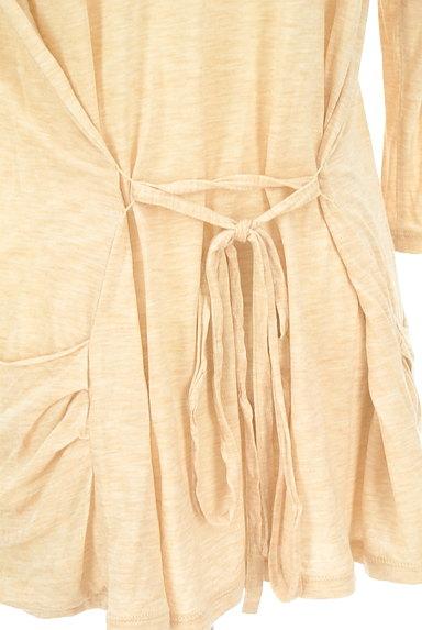 LAUTREAMONT(ロートレアモン)の古着「ドレープ杢カーディガン(カーディガン・ボレロ)」大画像5へ