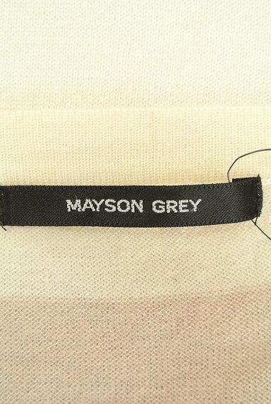 MAYSON GREY(メイソングレイ)レディース ニット PR10220440大画像6へ