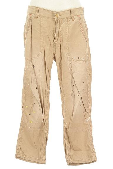 CUBE SUGAR(キューブシュガー)の古着「ペイント裾折り返しパンツ(パンツ)」大画像1へ