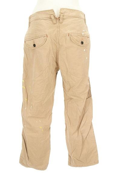 CUBE SUGAR(キューブシュガー)の古着「ペイント裾折り返しパンツ(パンツ)」大画像2へ