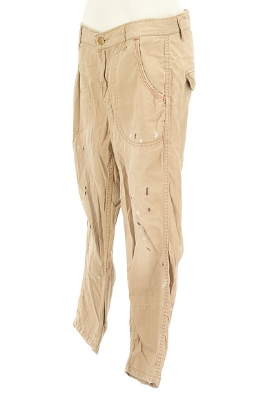 CUBE SUGAR(キューブシュガー)の古着「ペイント裾折り返しパンツ(パンツ)」大画像3へ