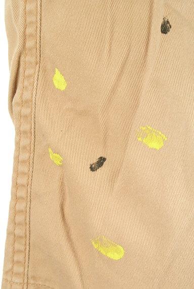 CUBE SUGAR(キューブシュガー)の古着「ペイント裾折り返しパンツ(パンツ)」大画像4へ