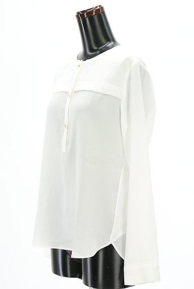 ROPE(ロペ)の古着「ゴールドボタンブラウス(カットソー・プルオーバー)」大画像3へ