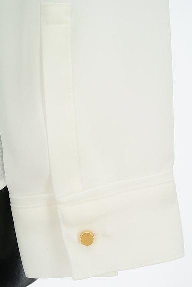 ROPE(ロペ)の古着「ゴールドボタンブラウス(カットソー・プルオーバー)」大画像5へ