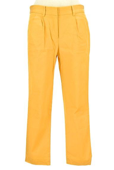 TOMORROWLAND(トゥモローランド)の古着「タックカラーパンツ(パンツ)」大画像1へ