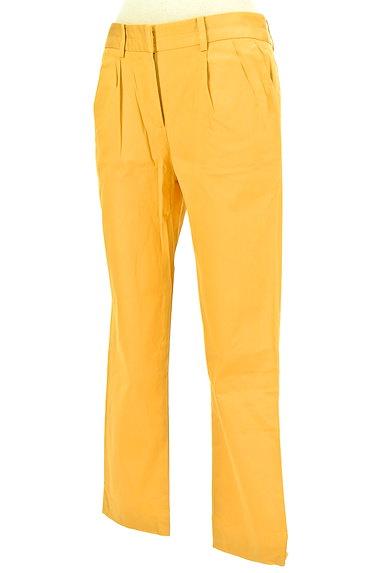 TOMORROWLAND(トゥモローランド)の古着「タックカラーパンツ(パンツ)」大画像3へ