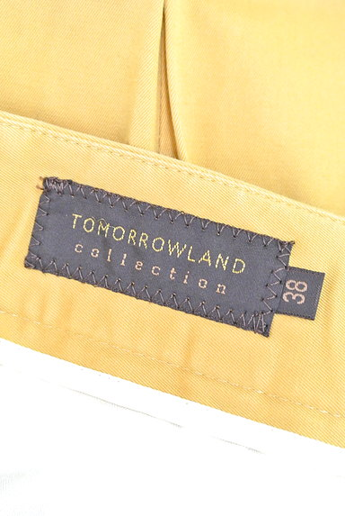 TOMORROWLAND(トゥモローランド)の古着「タックカラーパンツ(パンツ)」大画像6へ