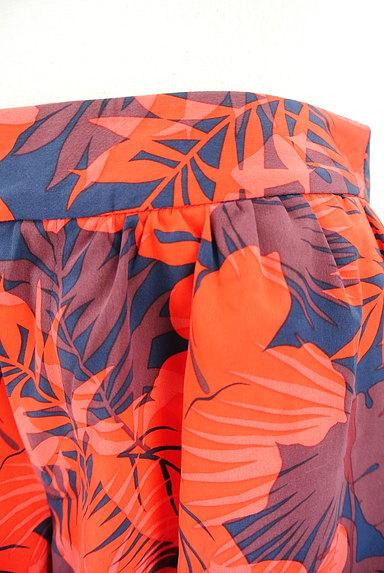 UNITED ARROWS(ユナイテッドアローズ)の古着「ハイビスカス柄キュロット(ショートパンツ・ハーフパンツ)」大画像4へ