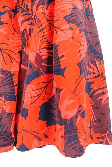 UNITED ARROWS(ユナイテッドアローズ)の古着「ハイビスカス柄キュロット(ショートパンツ・ハーフパンツ)」大画像5へ