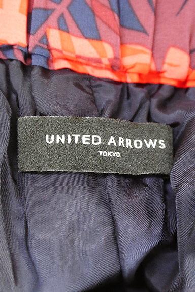 UNITED ARROWS(ユナイテッドアローズ)の古着「ハイビスカス柄キュロット(ショートパンツ・ハーフパンツ)」大画像6へ