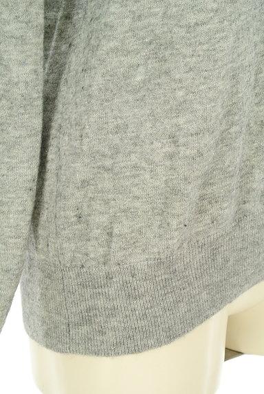 PROPORTION BODY DRESSING(プロポーションボディ ドレッシング)の古着「ブレードVネックニット(ニット)」大画像5へ