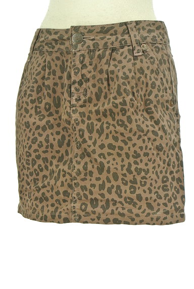 KariAng(カリアング)の古着「豹柄タイトミニ(ミニスカート)」大画像3へ