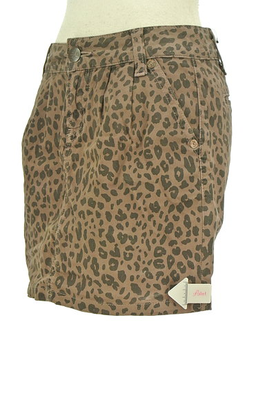 KariAng(カリアング)の古着「豹柄タイトミニ(ミニスカート)」大画像4へ