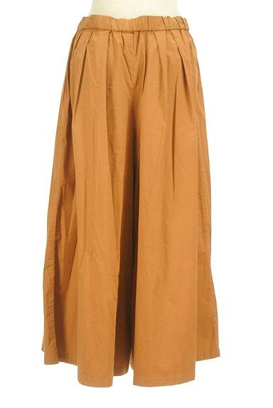 studio CLIP(スタディオクリップ)の古着「ロングタックフレアスカート(パンツ)」大画像2へ