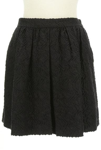 EPOCA(エポカ)の古着「バックファスナージャガードスカート(ミニスカート)」大画像1へ