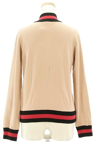 DOUBLE STANDARD CLOTHING(ダブルスタンダードクロージング)の古着「スタジャンデザインスウェットカーデ(スウェット・パーカー)」大画像2へ