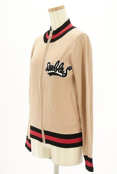 DOUBLE STANDARD CLOTHING(ダブルスタンダードクロージング)の古着「スタジャンデザインスウェットカーデ(スウェット・パーカー)」大画像3へ