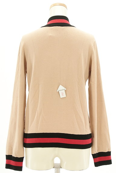 DOUBLE STANDARD CLOTHING(ダブルスタンダードクロージング)の古着「スタジャンデザインスウェットカーデ(スウェット・パーカー)」大画像4へ