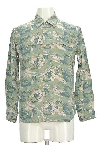 MONKEY TIME(モンキータイム)の古着「マリンテイストシャツ(カジュアルシャツ)」大画像1へ