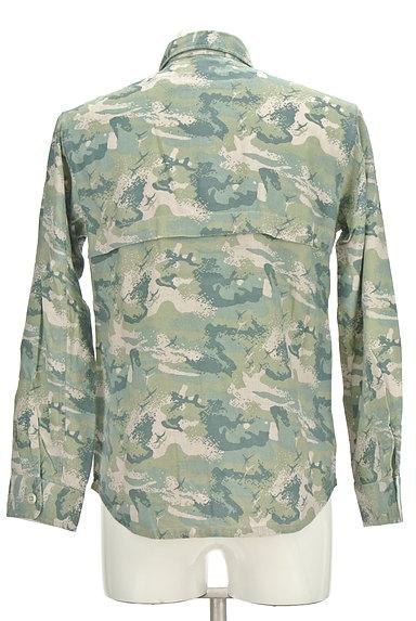 MONKEY TIME(モンキータイム)の古着「マリンテイストシャツ(カジュアルシャツ)」大画像2へ