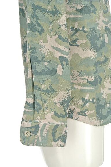 MONKEY TIME(モンキータイム)の古着「マリンテイストシャツ(カジュアルシャツ)」大画像5へ
