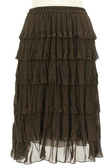 Rouge vif La cle(ルージュヴィフラクレ)の古着「ティアードフリルスカート(スカート)」大画像1へ