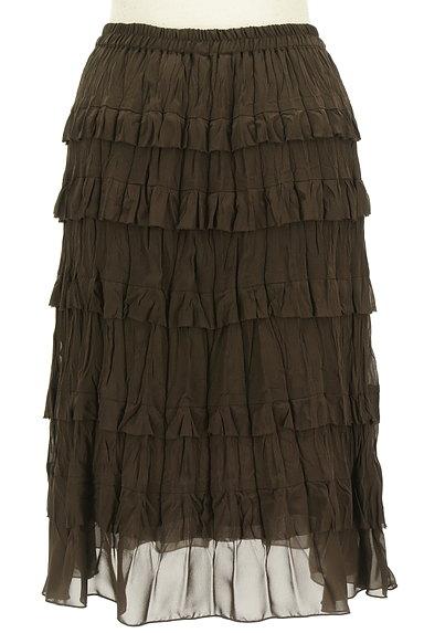 Rouge vif La cle(ルージュヴィフラクレ)の古着「ティアードフリルスカート(スカート)」大画像2へ