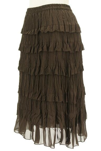Rouge vif La cle(ルージュヴィフラクレ)の古着「ティアードフリルスカート(スカート)」大画像3へ