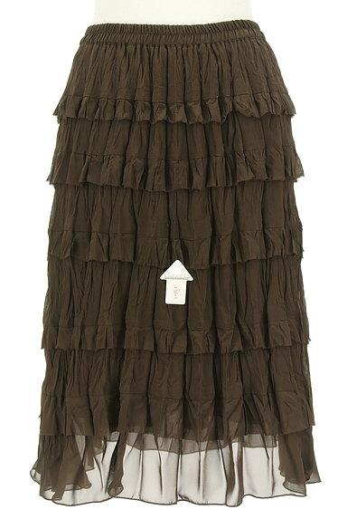 Rouge vif La cle(ルージュヴィフラクレ)の古着「ティアードフリルスカート(スカート)」大画像4へ