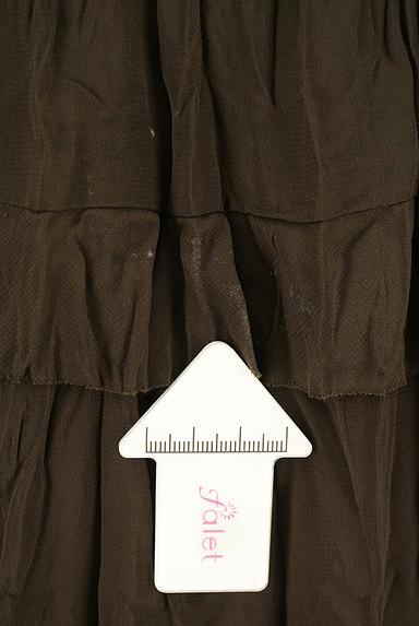 Rouge vif La cle(ルージュヴィフラクレ)の古着「ティアードフリルスカート(スカート)」大画像5へ