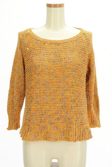 Lois CRAYON(ロイスクレヨン)の古着「MIXカラーローゲージニット(ニット)」大画像1へ
