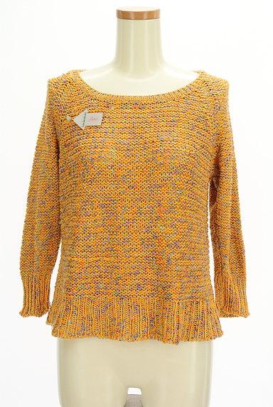 Lois CRAYON(ロイスクレヨン)の古着「MIXカラーローゲージニット(ニット)」大画像4へ