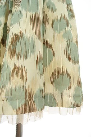 Lois CRAYON(ロイスクレヨン)の古着「ランダムドット柄フィット&フレアワンピ(キャミワンピース)」大画像5へ