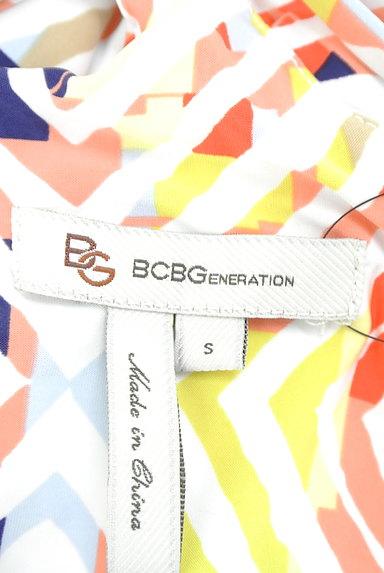 BCBGeneration(ビーシービージェネレーション)の古着「マルチデザインYバックドレープワンピ(キャミワンピース)」大画像6へ