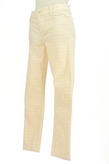 LOUNIE(ルーニィ)の古着「フロッキー千鳥格子柄ストレートパンツ(パンツ)」大画像3へ