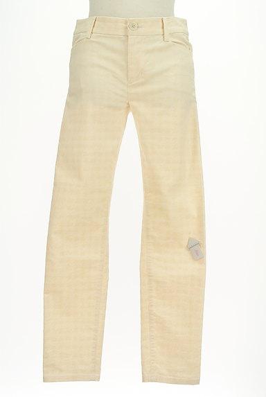 LOUNIE(ルーニィ)の古着「フロッキー千鳥格子柄ストレートパンツ(パンツ)」大画像4へ
