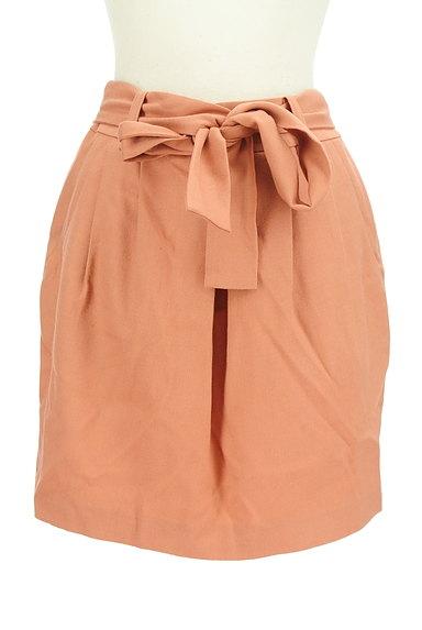 aquagirl(アクアガール)の古着「ウエストリボンコクーンスカート(ミニスカート)」大画像1へ