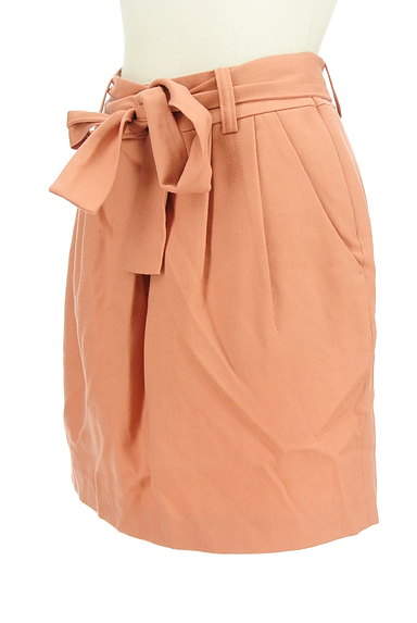 aquagirl(アクアガール)の古着「ウエストリボンコクーンスカート(ミニスカート)」大画像3へ
