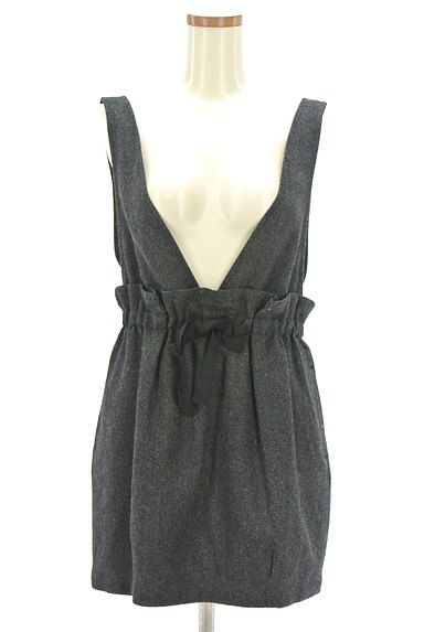 JILLSTUART(ジルスチュアート)の古着「ウエストリボンサロペットスカート(オーバーオール・サロペット)」大画像1へ