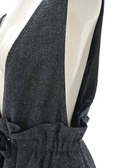 JILLSTUART(ジルスチュアート)の古着「ウエストリボンサロペットスカート(オーバーオール・サロペット)」大画像4へ