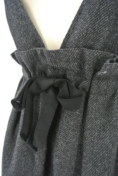 JILLSTUART(ジルスチュアート)の古着「ウエストリボンサロペットスカート(オーバーオール・サロペット)」大画像5へ