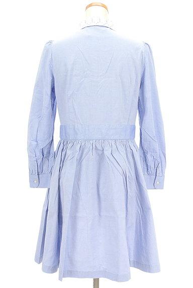 CHILD WOMAN(チャイルドウーマン)の古着「襟カットワークレースシャツワンピ(ワンピース・チュニック)」大画像2へ