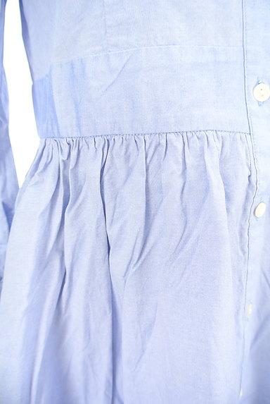 CHILD WOMAN(チャイルドウーマン)の古着「襟カットワークレースシャツワンピ(ワンピース・チュニック)」大画像5へ