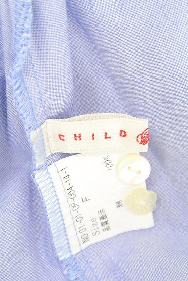 CHILD WOMAN(チャイルドウーマン)の古着「襟カットワークレースシャツワンピ(ワンピース・チュニック)」大画像6へ