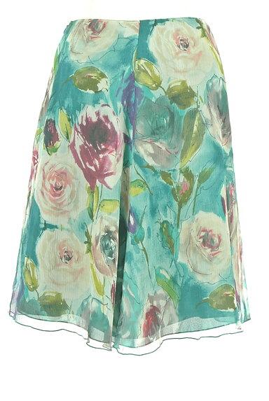 Blumarine(ブルマリン)の古着「水彩画風フラワーフレアスカート(スカート)」大画像2へ