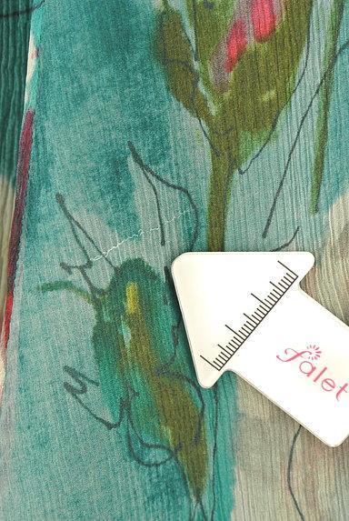 Blumarine(ブルマリン)の古着「水彩画風フラワーフレアスカート(スカート)」大画像5へ